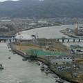 写真: 日和山から石ノ森まんが館