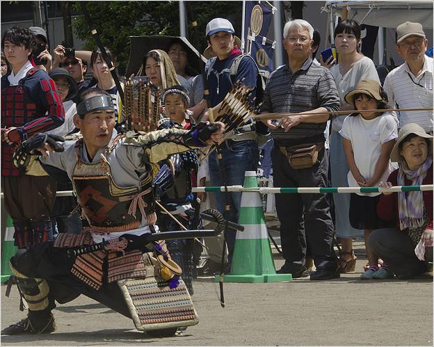 古式弓術演舞