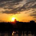 写真: ローマ夕景