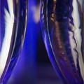 写真: 光るグラス