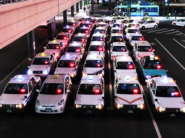 客待ちタクシー