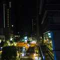 Photos: 駅前のホテルの窓から