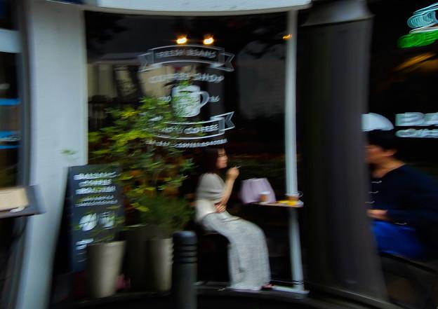 Photos: 俄雨のカフェ