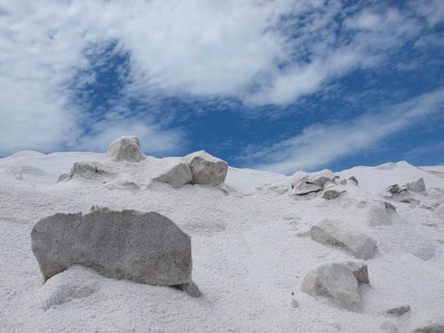 ウユニ塩湖? 岩塩は本当に塩です