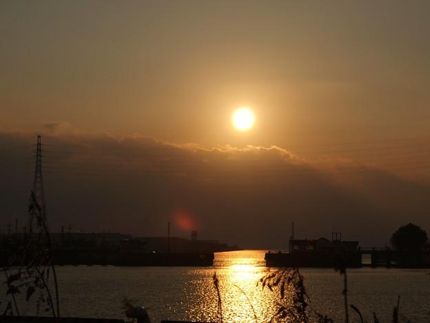 2020年2月1日三池港光の航路2