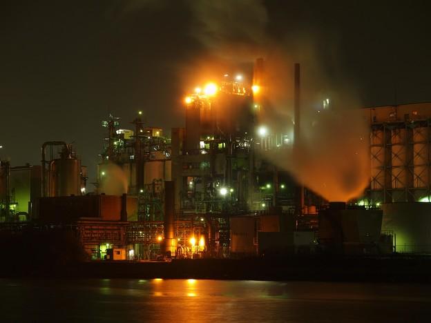 日鉄ケミカル&マテリアルの夜景1