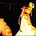 巫女の神楽奉納 浦安の舞
