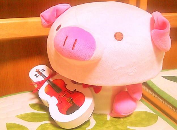 ぼくのバイオリン♪