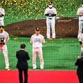 Photos: 20201125b 日本一セレモニー_25_優秀選手 柳田 & 中村晃 & ムーア