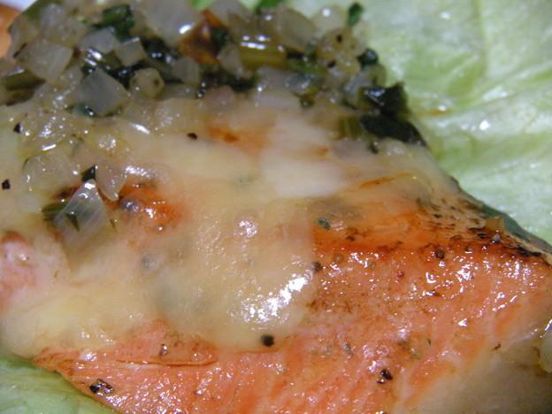 鮭のソテー