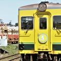 写真: 到着!ムーミン列車