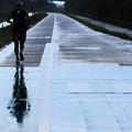 写真: 雨中ラン