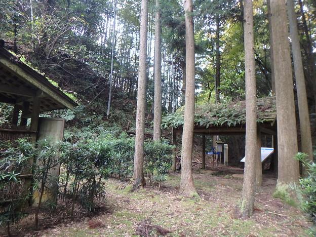 椊坂駕籠建場・茶屋跡に到着14:05