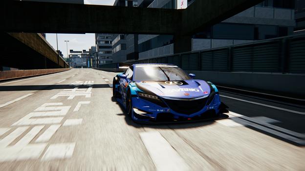 NSX-GT シミュレーション