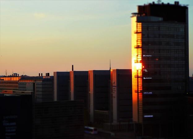 ヘルシンキの朝