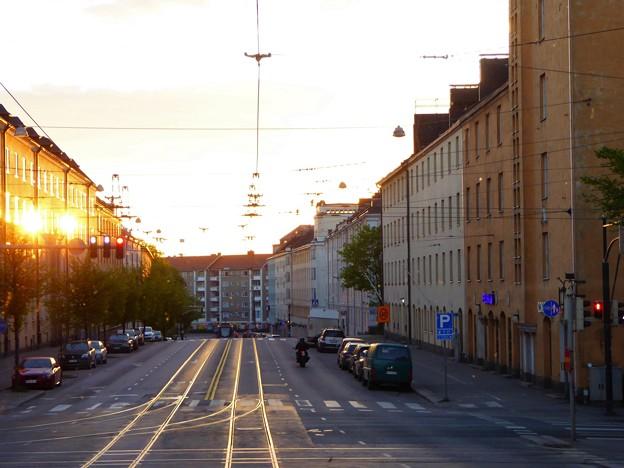 午前4時11分のヘルシンキ市街
