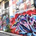 Photos: 壁絵通り1