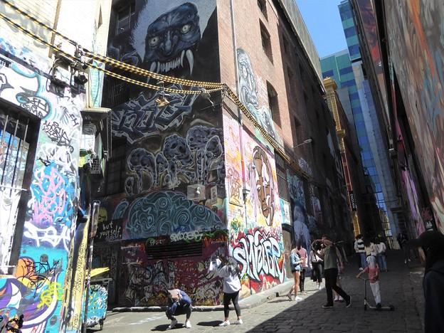 巨大な壁アート