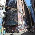Photos: 巨大な壁アート