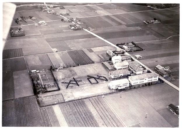 徳島県立名西高等学校 航空写真