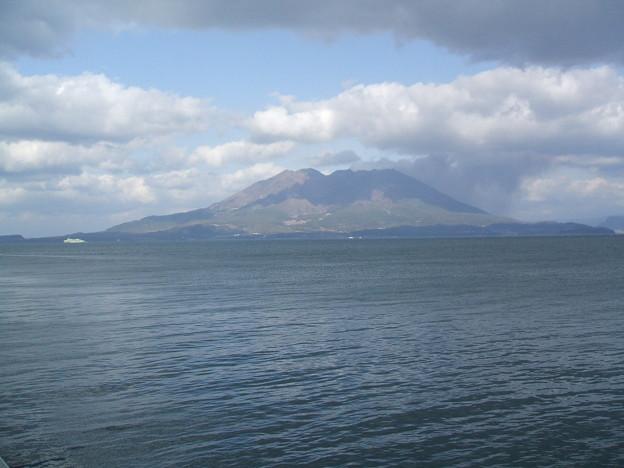 桜島 マリンポートかごしま 20110303