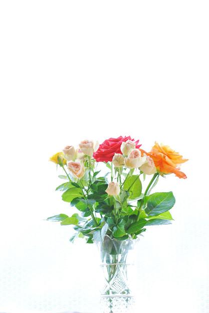 バースディに花束を
