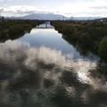 Photos: 川面の冬雲