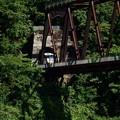 磐越西線の鉄橋