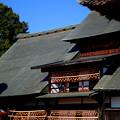写真: 秋の屋根2