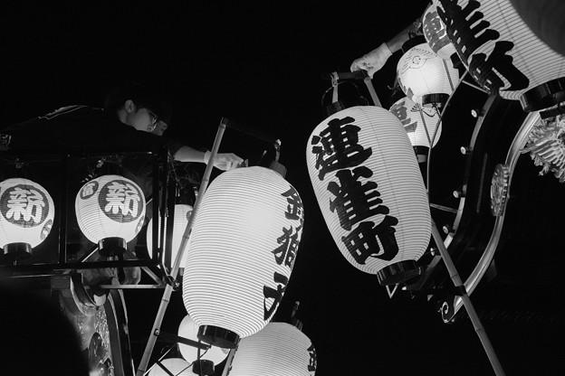 Photos: 山車すれ違う