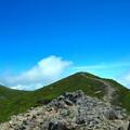 Photos: 雲の上の稜線