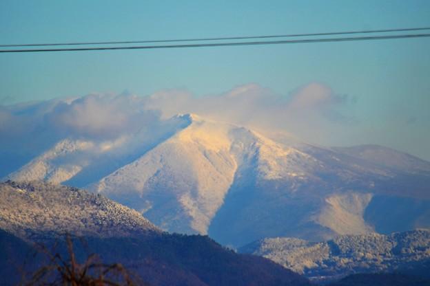 福島からの蔵王連峰