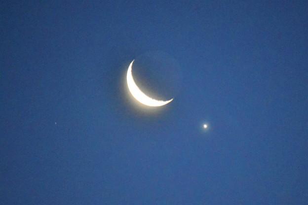 月に金星が接近!