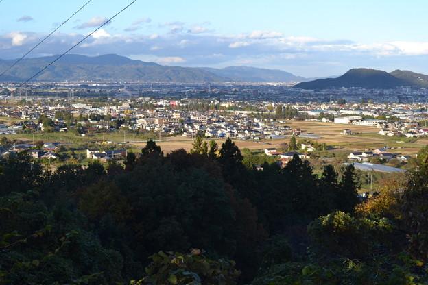 福島市の北側方面