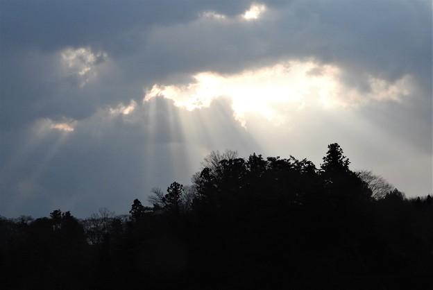 Photos: 光芒が~