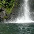 写真: 大棚の滝 滝壺