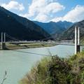 Photos: 南アルプス接岨大吊橋 増水時