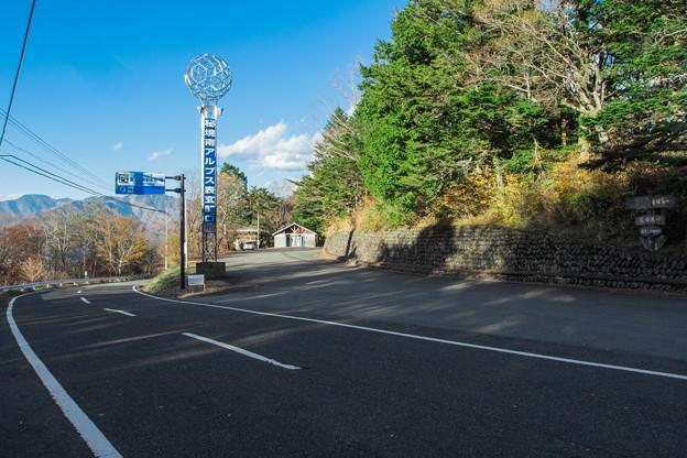 富士見峠 駐車場