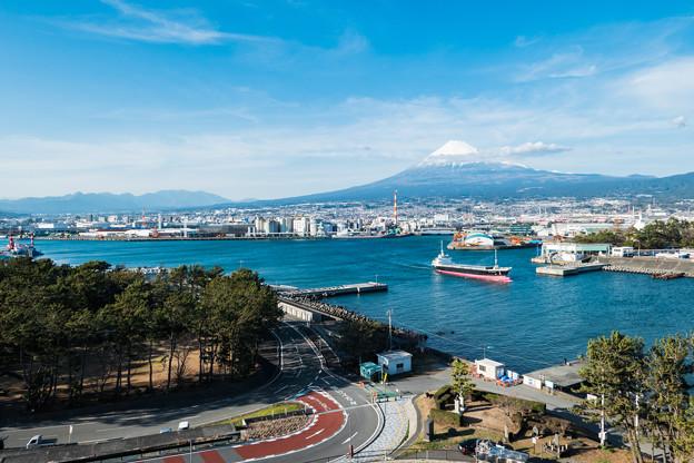 富士山ドラゴンタワーからの眺め