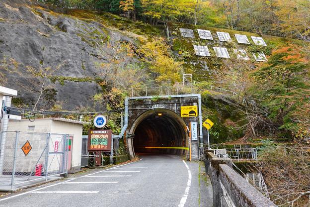 井川トンネル 北口