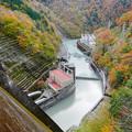 Photos: 井川五郎ダム 堤体上からの眺め