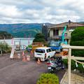 Photos: 井川ダム駐車場 渡船乗り場