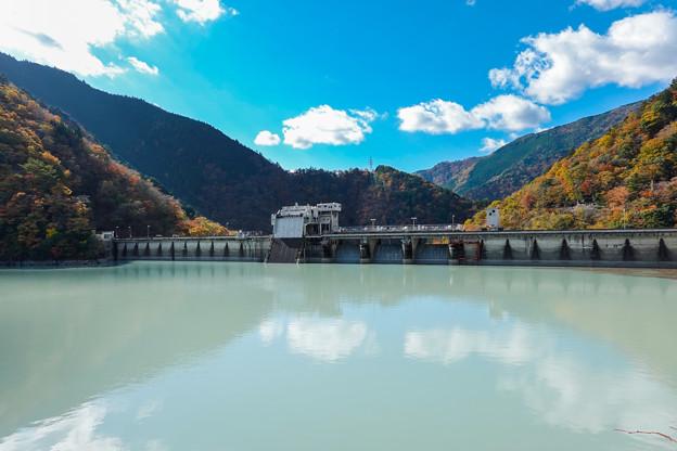 井川吾郎ダム 堤体内側
