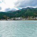 Photos: 井川湖から眺める井川本村