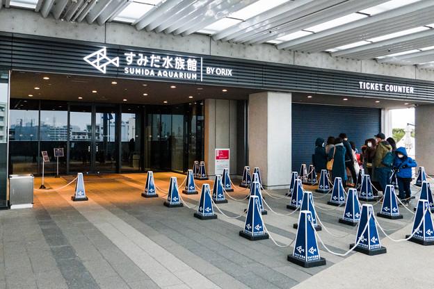 Photos: すみだ水族館 入口&チケット売場