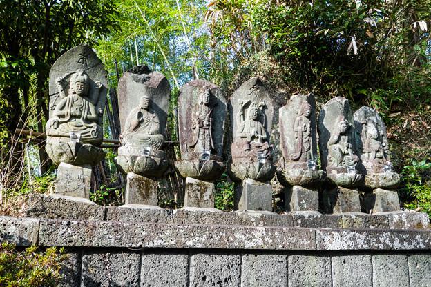 釈迦如来と六観音像