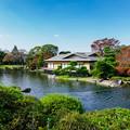 Photos: 源心庵と主池