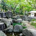 Photos: 大滝と林泉亭