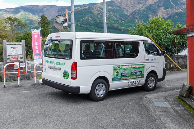 静岡市井川地区運行バス