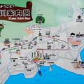 Photos: 井川案内図
